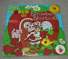 The World of Strawberry Shortcake Original Tv Soundtrack 33 1/3 Lp Record Sealed