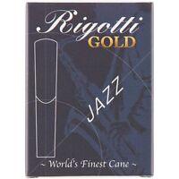 Rigotti Gold Alto Saxophone Reeds Strength 3 Medium