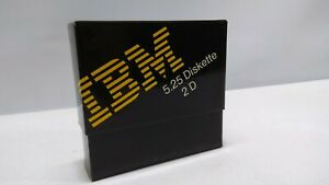 Vintage IBM 5.25 2D Floppy Diskette