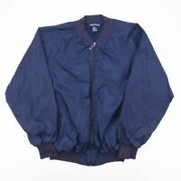 NAUTICA  Blue 00s Nylon Casual Bomber Jacket Womens XL
