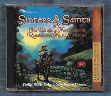 Sinners & Saints (CD, 1996) Philip Pickett; New London Consort; Medieval Music