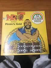 Mr. T Starring In Pirate's Gold Vintage 1984 Book
