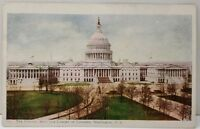 Washington DC The Capitol from The Library of Congress Postcard E16