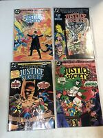 America Versus vs. The Justice Society (1985) #1 2 3 4 1-4 (VF/NM) Complete Set