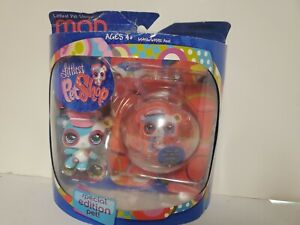 Vintage Littlest Pet Shop Special Edition with Bubble Display New In Package