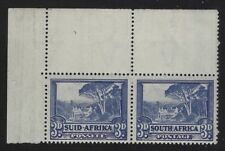 South Africa 1940 3d Groote Schuur pair Sc# 57 NH