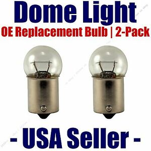 Dome Light Bulb 2-Pack OE Replacement - Fits Listed Chevrolet Vehicles - 631