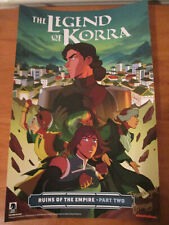 Avatar the Last Airbender Legend of Korra Poster NYCC 2019 Exclusivesigned WONG