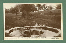 C1930'S RP PC THE CUP AND SAUCER, ERTHIG PARK, NR. WREXHAM