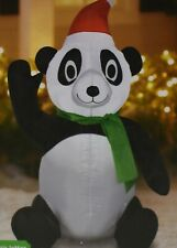 Holiday Time Airblown Inflatable Panda 3.5ft Tall Lighted IndoorOutdoor
