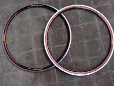 "NOS FIR SRG30 Apollo pair rims 700c 28""  copper anodized 36 hole for clincher"
