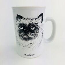 Himalayan Kitty Cat Coffee Mug Cup Ceramic Papel Freelance