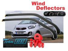 Wind deflectors KIA Picanto II  2011 - 2017  3.doors  2.pc  HEKO 20154