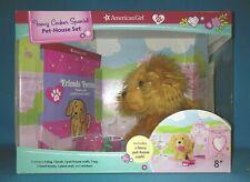 Nib ~American Girl Cocker Spaniel Pet-House Set~ Dog Book Treats Craft Stickers