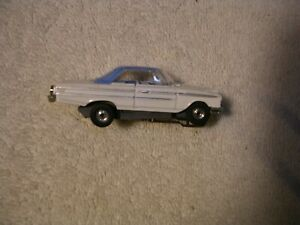 Dash 63 Ford Galaxy  HT White and blue AuroraOrig Closed rivet chassis Very nice