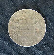 Zilveren munt South Africa/Suid-Afrika: 1  Sh.1897