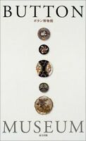 BUTTON MUSEUM.METAL,PIQUE,WOOD,PICTURE,VINTAGE JAPANESE BOOK