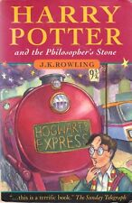 Harry Potter & The Philosopher's Stone By J. K. Rowling (1st Edition Paperback)