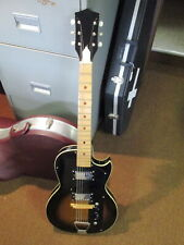 KAY Value Leader Vintage Electric Hollow Body Electric Guitar & Case