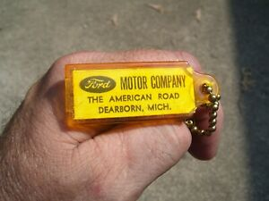 Vintage 1960' s Ford accessories nos promo fomoco auto key holder car old part