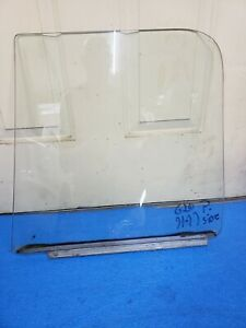 71-77 Chevy Van G10 G20 gmc boogie hippie van passenger side front door window