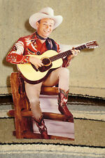 "Roy Rogers & Trigger ""King of the Cowboys"" Figure Tabletop Display Standee 10.5"