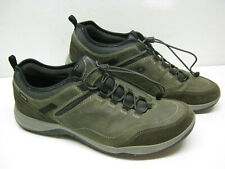 ECCO Esphino GTX Gore-Tex Green Yak Leather Suede Men's Shoes Size 12 Used