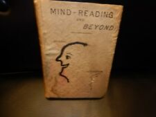 MIND READING AND BEYOND By William A. Hovey 1885 RARE FIRST EDITION