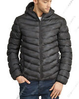 NEW BOYS Bomber JACKET COAT HOODED Boy Padded Quilted AGE 7 8 9 10 11 12 13