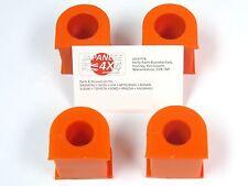 fits: ISUZU TROOPER/BIG HORN **FRONT & REAR POLY ANTI ROLL BAR BUSH KIT 25.5mm**