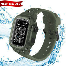 Waterproof Case for Apple Watch 44mm Series 4/5,iWatch 44mm Protective Case Band