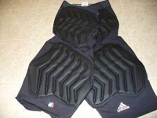 Adidas tech fit Size 2XL compression climalite black padded basketball shorts