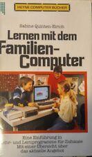 Quiten-Eirich Lernen mit dem Familien-Computer (Buch Heyne 1985) C64