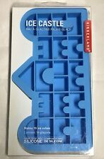 Kikkerland Ice Castle ~ 100% Silicone Novelty Ice Tray