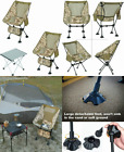 iClimb 1 Folding Table and 2 Desert Camouflage Chair with Large Feet...