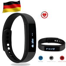 Smartband Fitness Armband Pulsuhr Blutdruck Tracker Smartwatch Sportuhr NEU