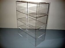 "Acrylic Lucite Countertop Display Case ShowCase Box Cabinet 12"" x 4"" x 16"""