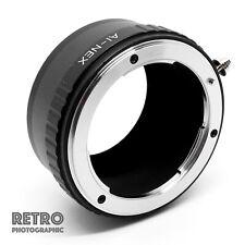 AI-NEX Nikon AI AIS F Mount Lens to NEX Sony E Mount Adapter Ring - UK Stock