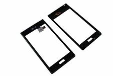 LG P700 Optimus L7 Touch Screen LCD Display Glas Rahmen Cover Original black Neu
