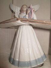 "Lladro ""Heavenly Harpist� (5830 Angel) Mint Condition"