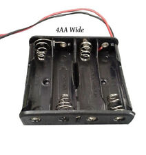 4AA Battery Holders, Plastic (Pack of 2)