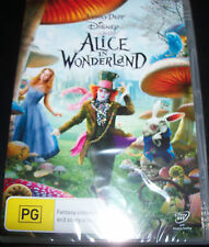 Alice In Wonderland (Johnny Depp) Disney (Australia Region 4) DVD - New