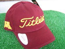 Titleist Minnesota Golden Gophers Golf Ball Marker Hat Cap NCAA Adjustable NEW