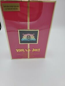 💯Juicy Couture Viva Luxe GIFT BOX EDP Pure Parfum Spray For Girl 3.4 oz $480
