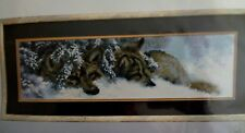 Counted Cross Stitch Kit Charivna Mit 436 - Wolves - NEW