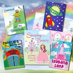 Personalised Children's Story Books, Kids Stories, Fairy Tales, Birthday Gifts