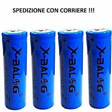 4X BATTERIA BATTERIE 18650 PILE RICARICABILE LITIO 8800 mAh 3.7v PILA LED TORCIA