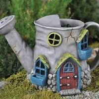 Fiddlehead Fairy Garden OLD WATERING CAN HOME - NIB