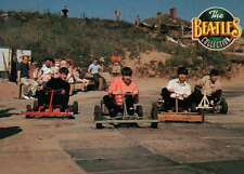 The Fab Four Riding Go-Karts,Ringo Leading the Pack, 1963 - Beatles Trading Card