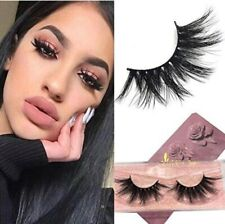 3D Mink Eyelashes Long Type 100% Siberian Mink Fur False